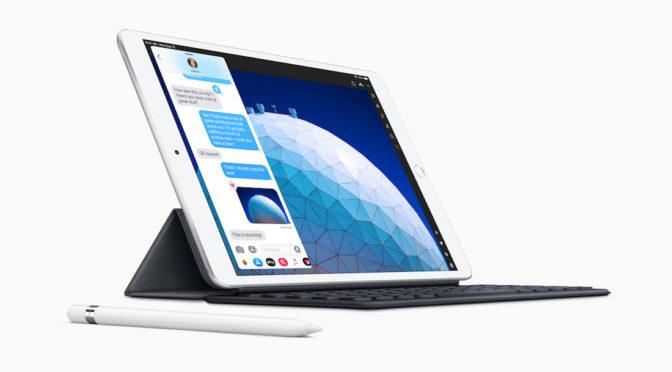 Apple、新しい10.5インチ「iPad Air」と7.9インチ「iPad mini」を発売