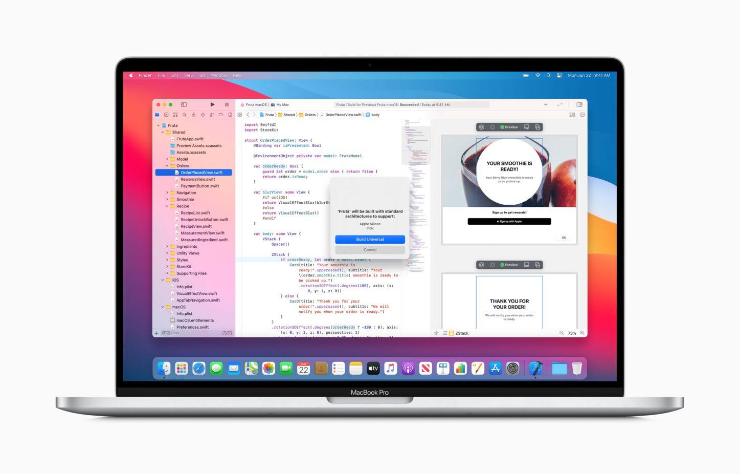 Apple、Macの「Appleシリコン」への移行を発表