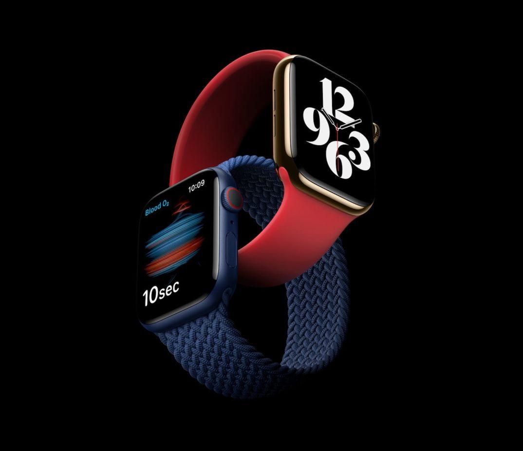 ウェルネスとフィットネス機能搭載の「Apple Watch Series 6」発表