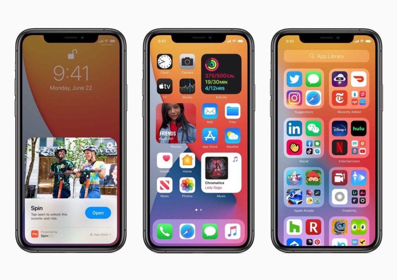 「iOS 14」「iPadOS 14」「watchOS 7」「tvOS 14」リリース