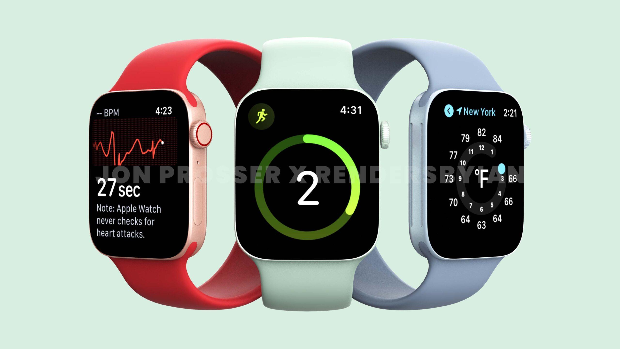 「Apple Watch Series 7」は画面と性能がアップデート、エクストリームスポーツモデルは2022年に登場