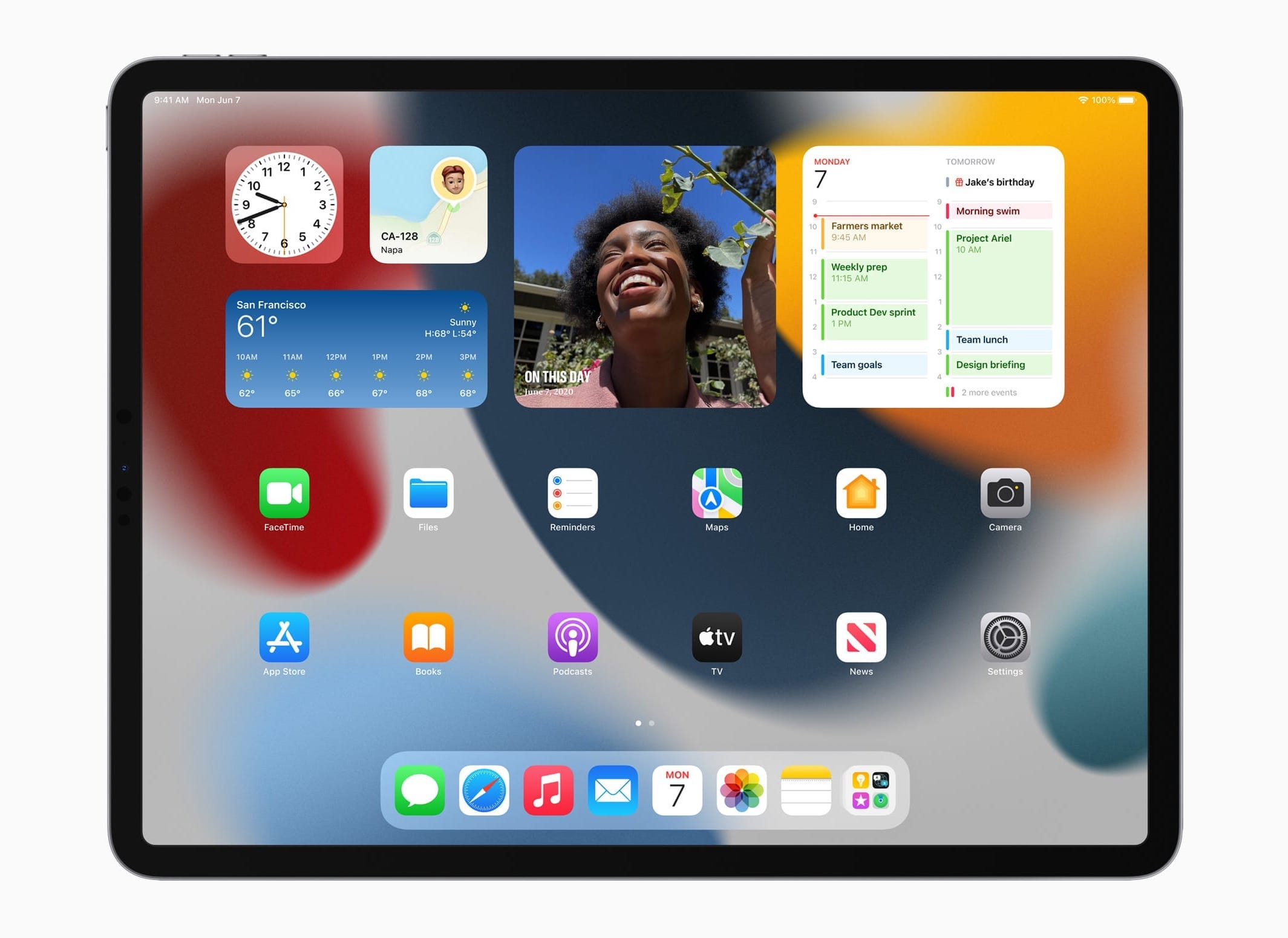 Apple、「iPadOS 15」を発表