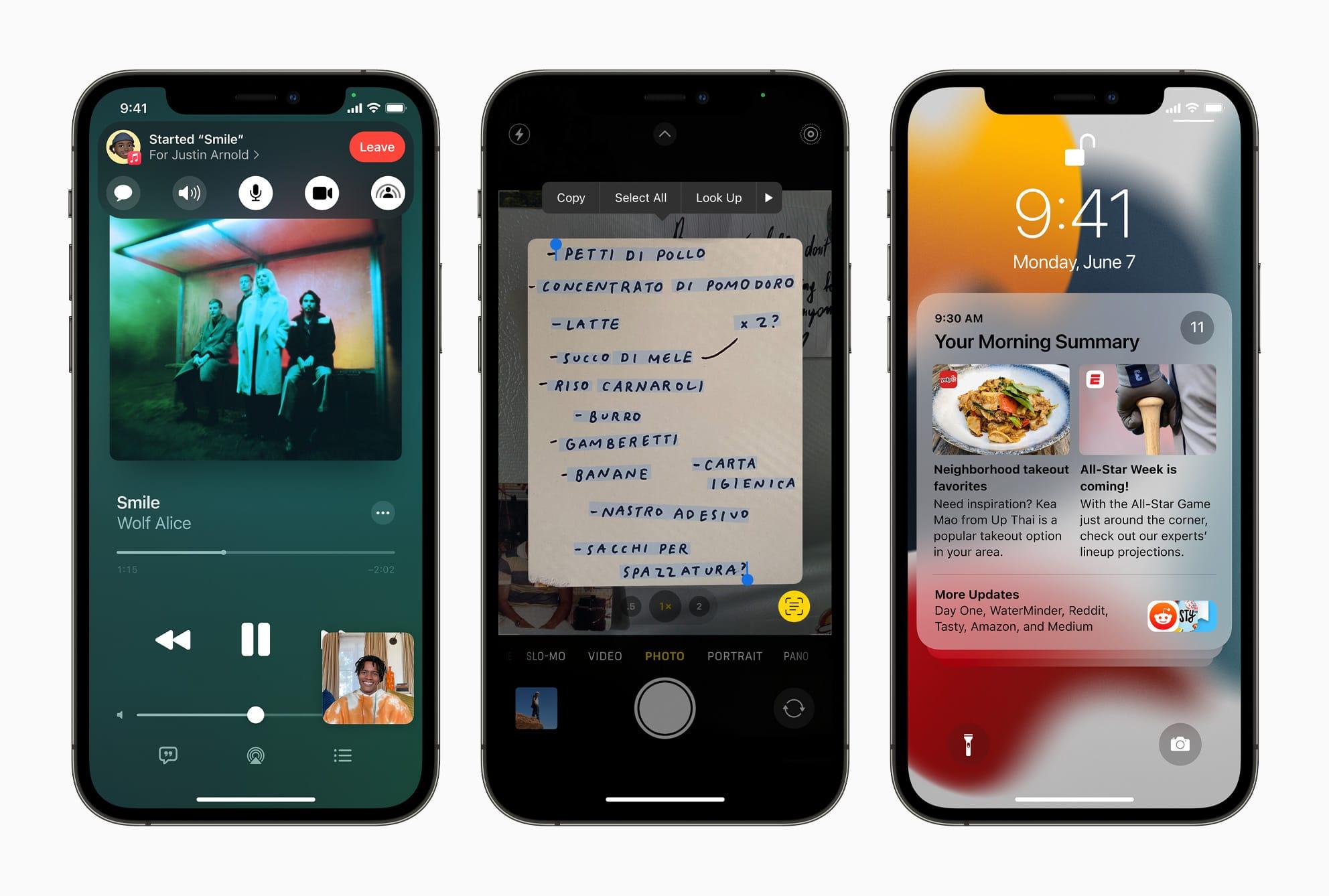 Apple、「iOS 15」を発表