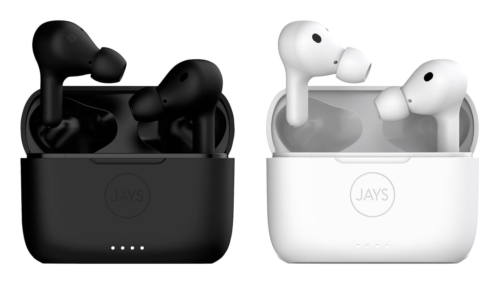 JAYS、ANC搭載完全ワイヤレスイヤフォン発売