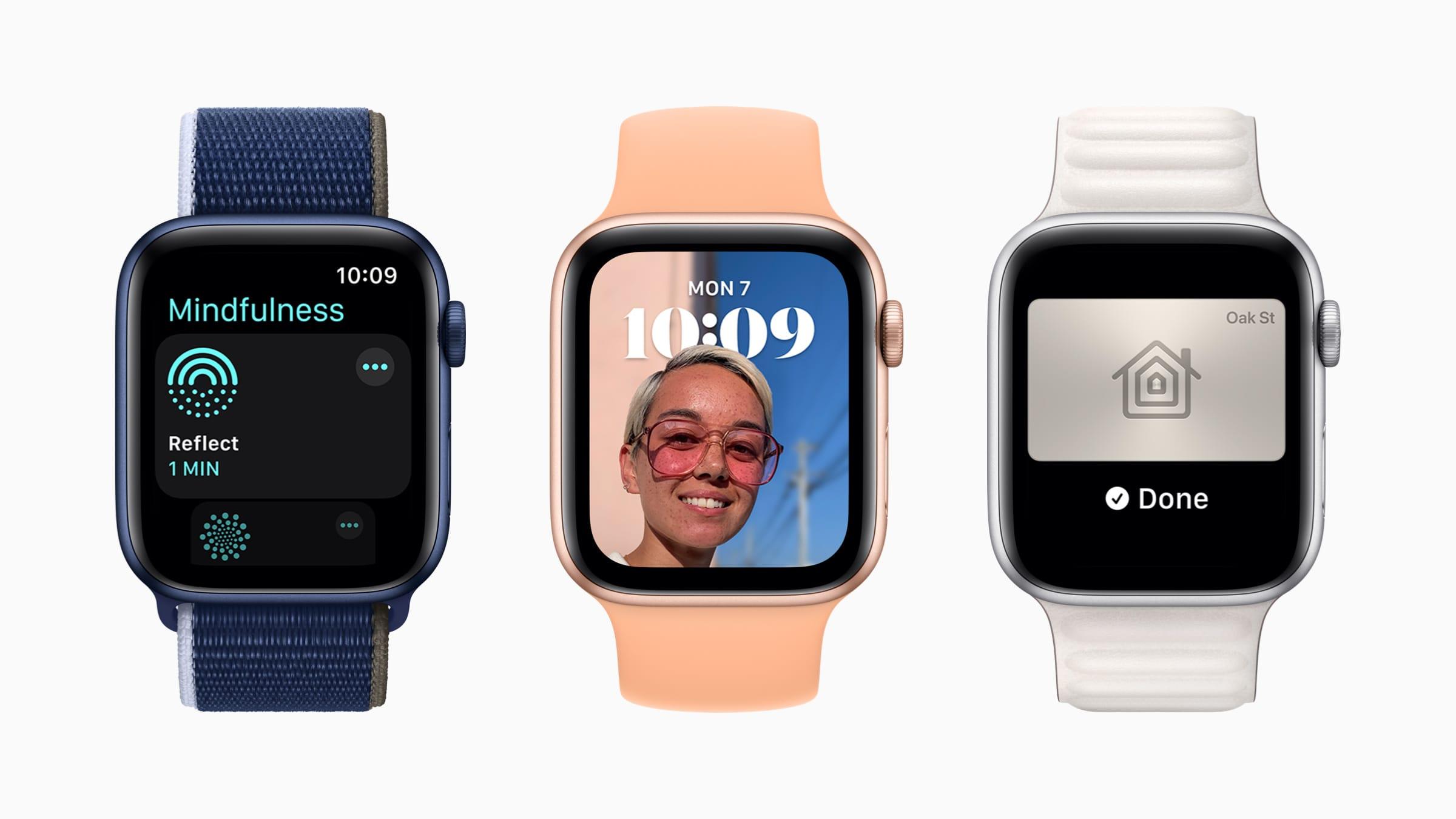 Apple、「watchOS 8」を発表