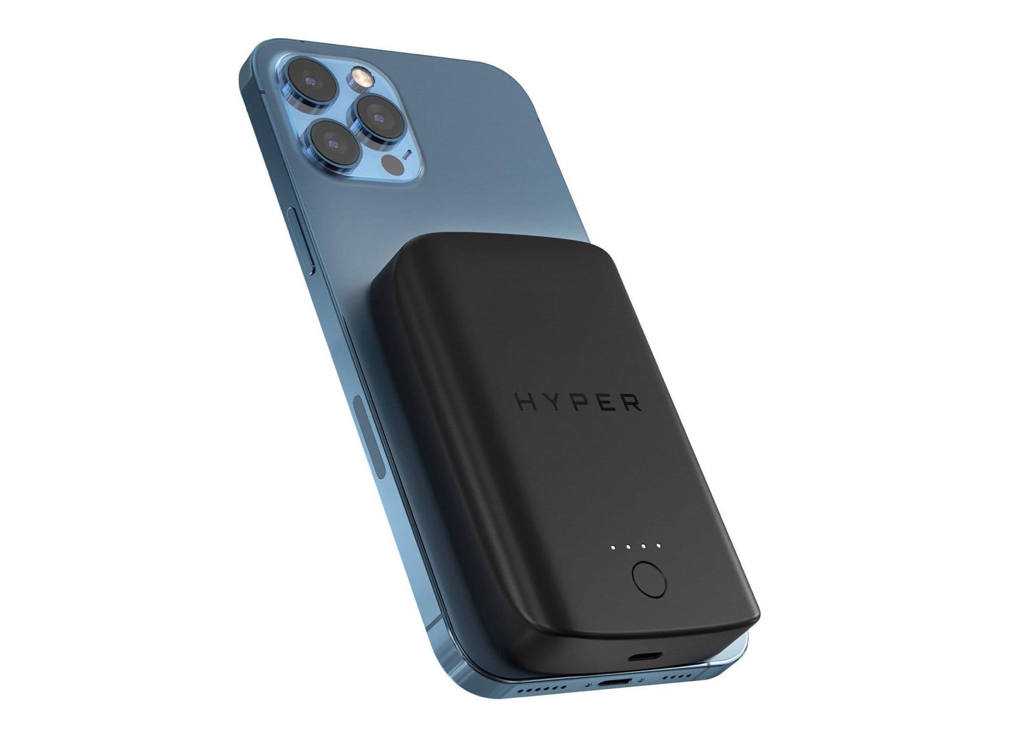 HYPERのMagSafe対応ワイヤレスモバイルバッテリー、一般販売スタート
