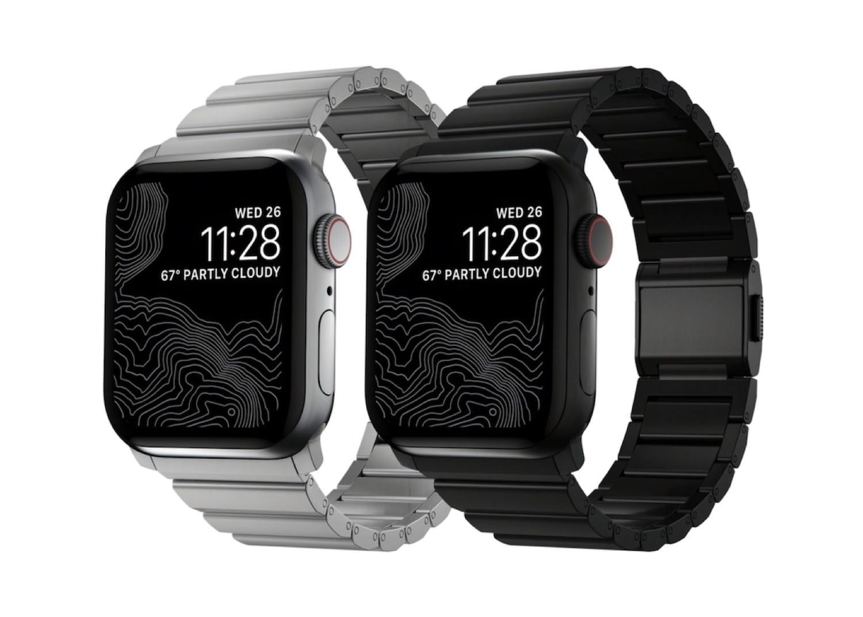 チタン製Apple Watchバンド「NOMAD Titanium Band」の新モデル発売