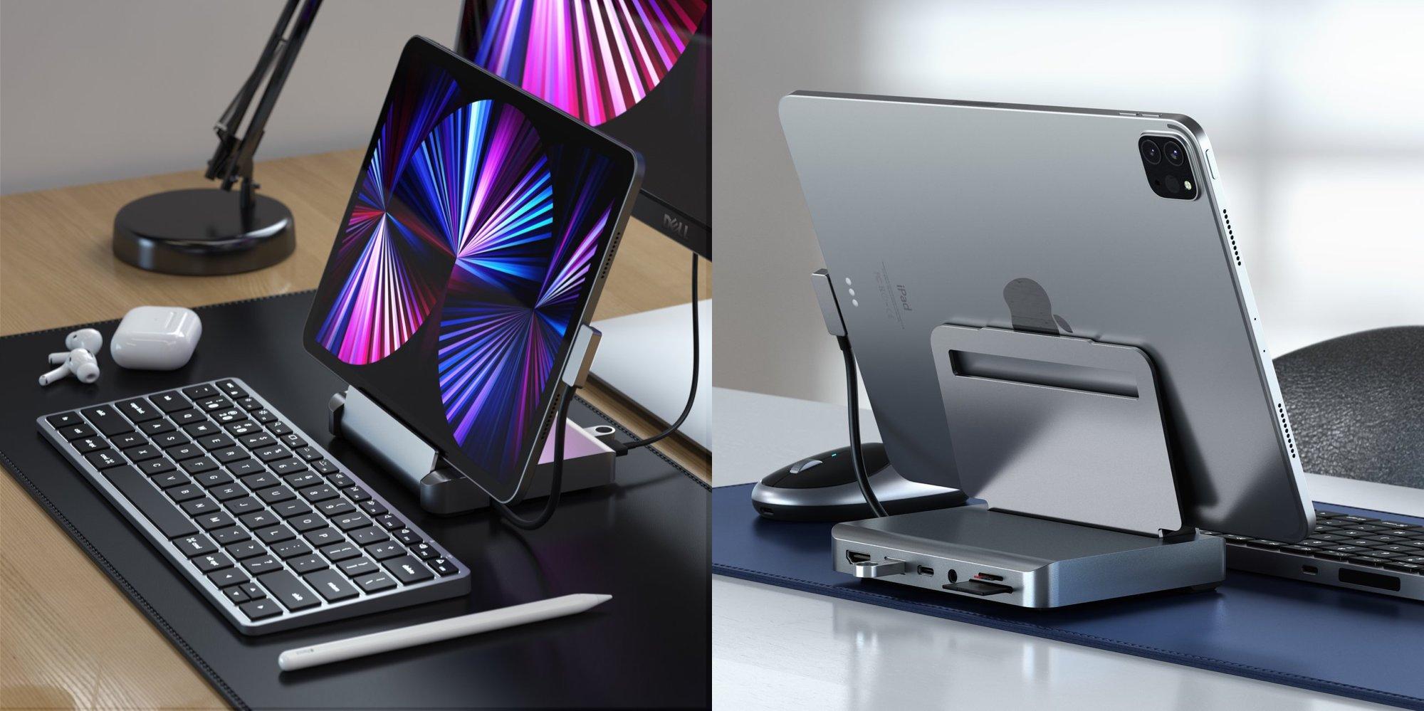 Satechi、iPad Pro/Air用アルミスタンド&ハブ発売
