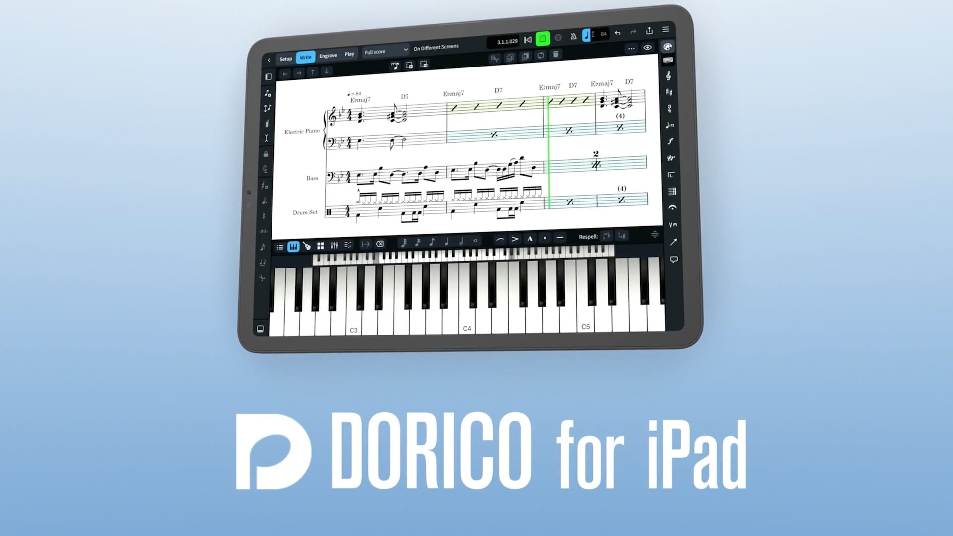 Steinberg、楽譜作成アプリ「Dorico」のiPad版をリリース