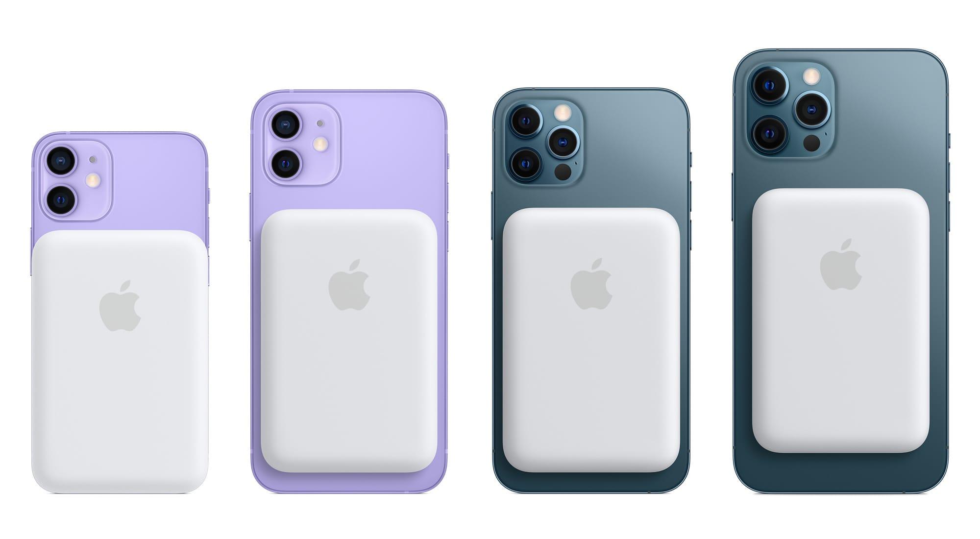 Apple、iPhone 12シリーズ用「MagSafeバッテリーパック」を発売