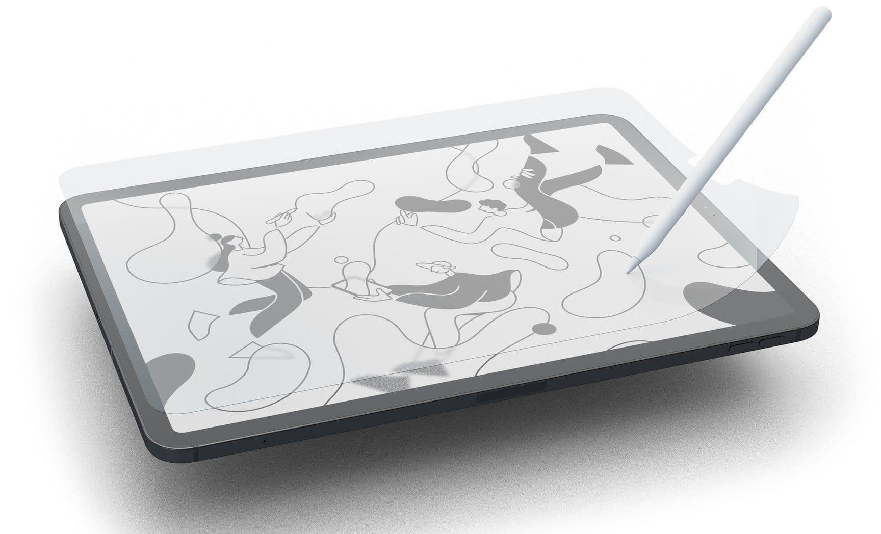 紙のような描き心地のiPad Pro/iPad用フィルム「Paplerlike」発売