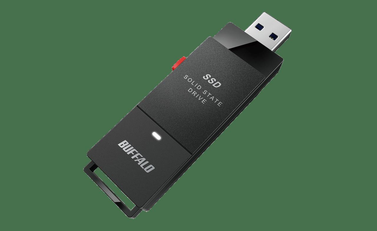 バッファロー、スティック型SSDを発売