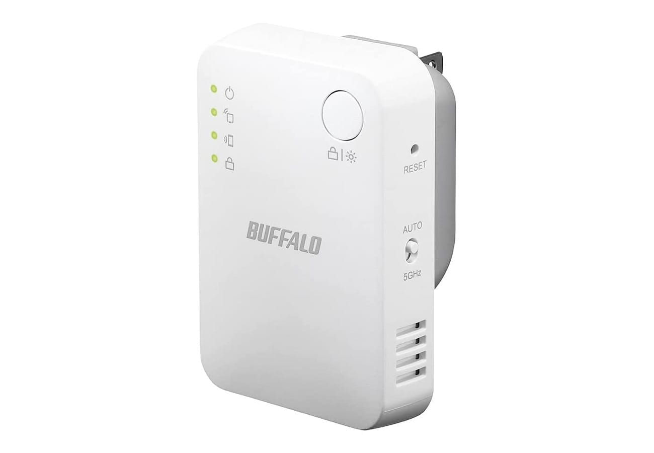 バッファロー、ハイパワーWi-Fi中継機2機種発売