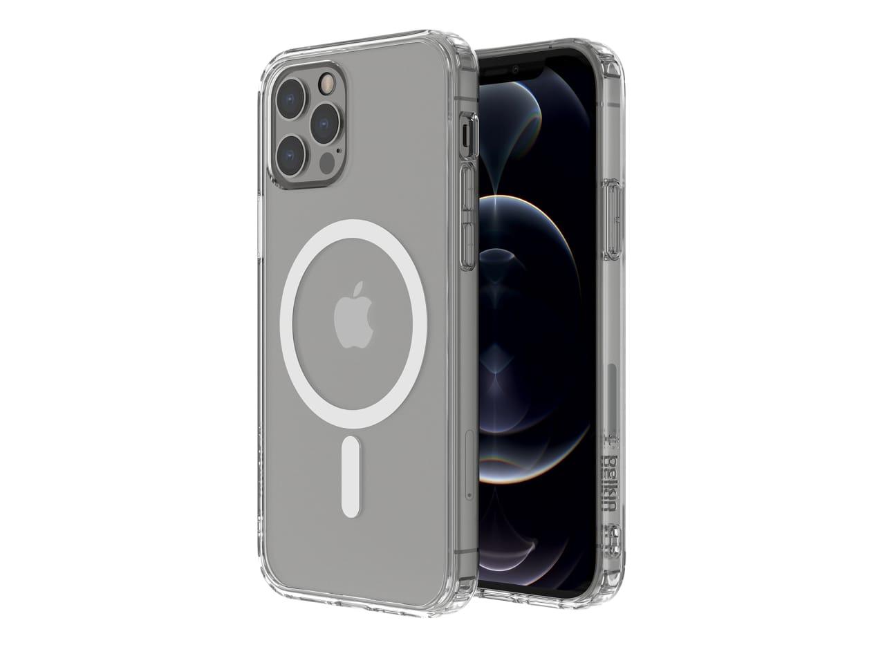 ベルキン、MagSafe対応iPhone 12シリーズ用抗菌クリアケース発売