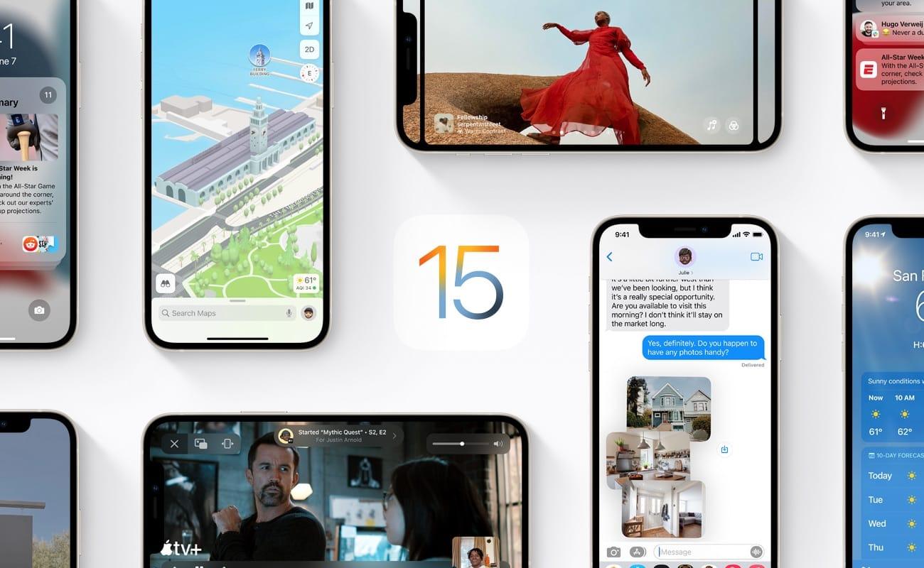 「macOS Monterey」「iOS 15」「iPadOS 15」「watchOS 8」「tvOS 15」のベータ3公開