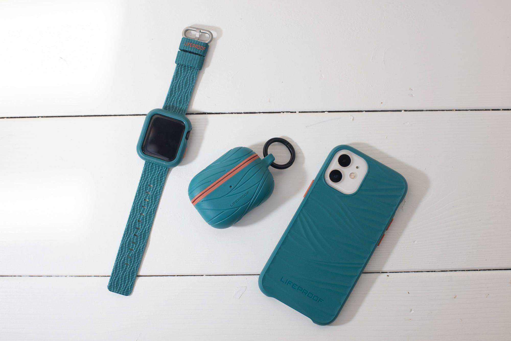 LifeProof、再生海洋プラスチック使用のAirPods/AirPods Pro/Apple Watch用ケース発売