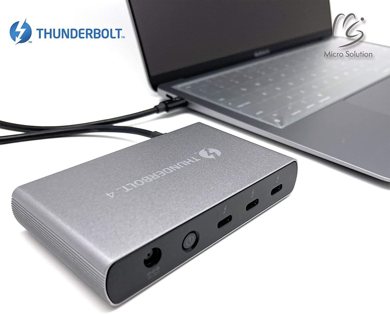 マイクロソリューションのThunderbolt 4/USB4ドック&iPhone 12シリーズ用スクリーンプロテクターが割引価格に