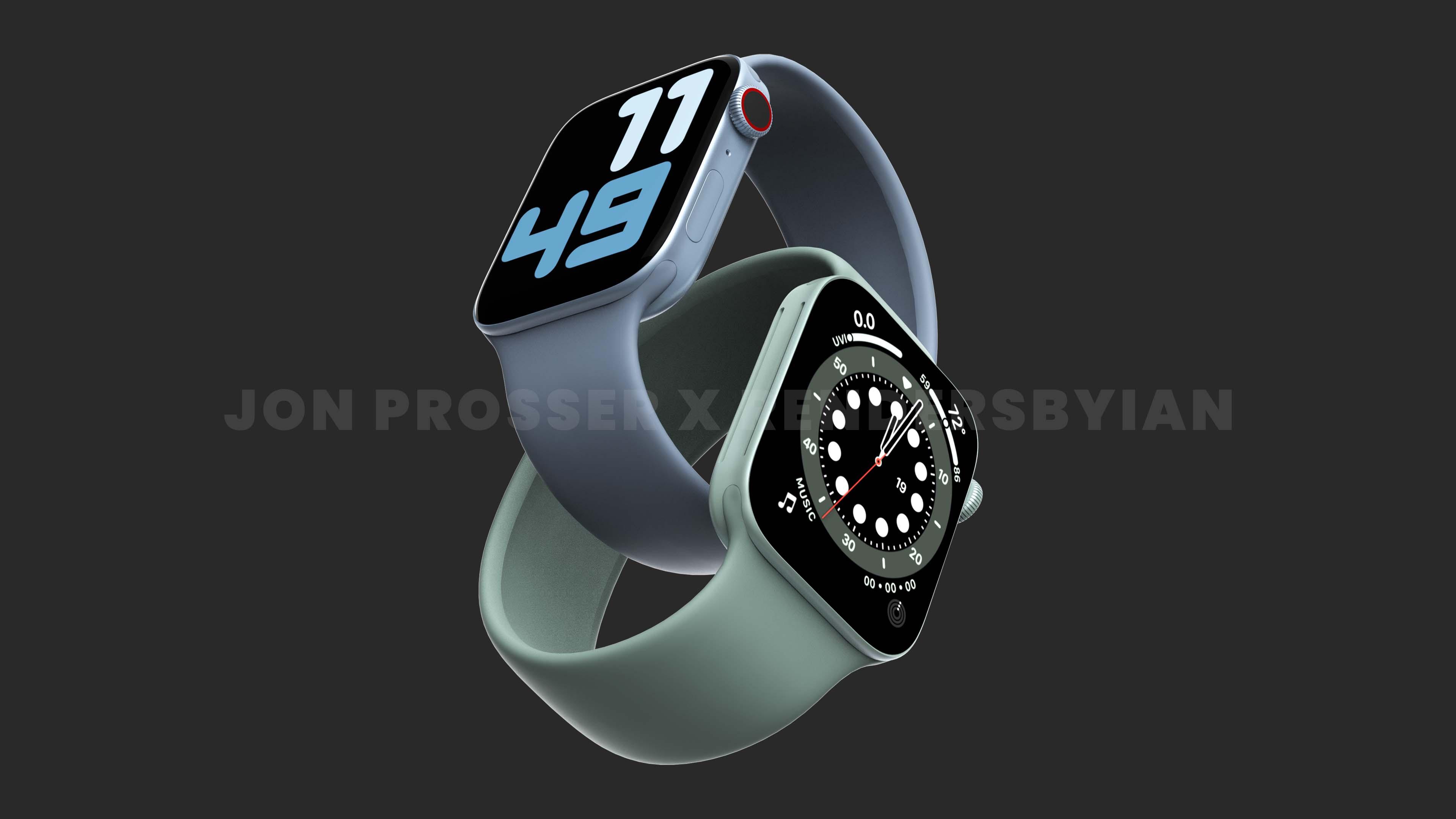 「Apple Watch Series 7」は大型ディスプレイを生かした新しい文字盤を搭載