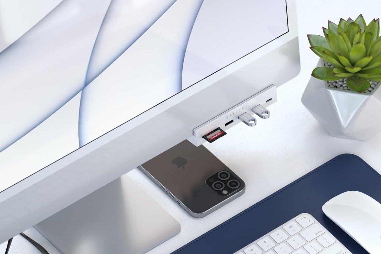 satechi、24インチiMacに取り付け可能なUSB-Cハブ発売