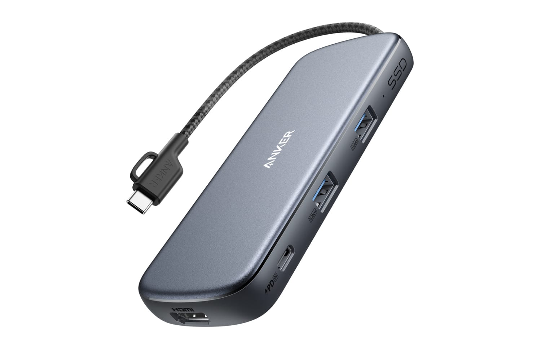 Anker、SSD内蔵の4-in-1 USB-Cハブ発売
