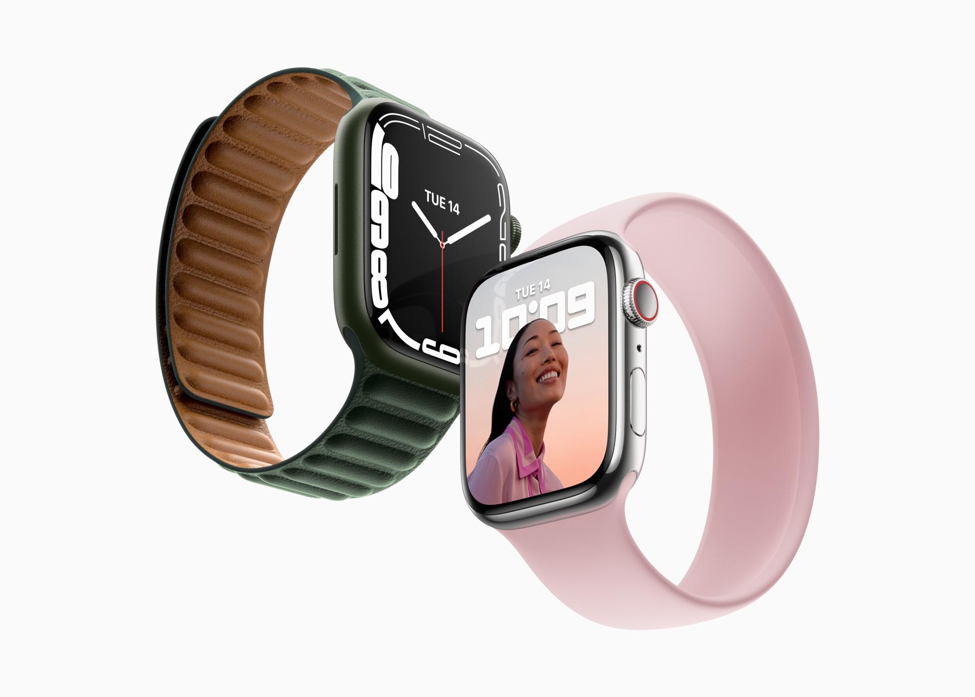 Apple、「Apple Watch Series 7」を発表