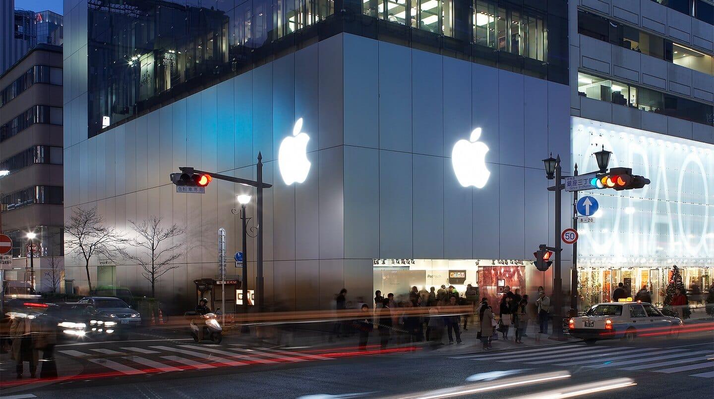Apple Store、10月18日(月)より通常の営業時間に