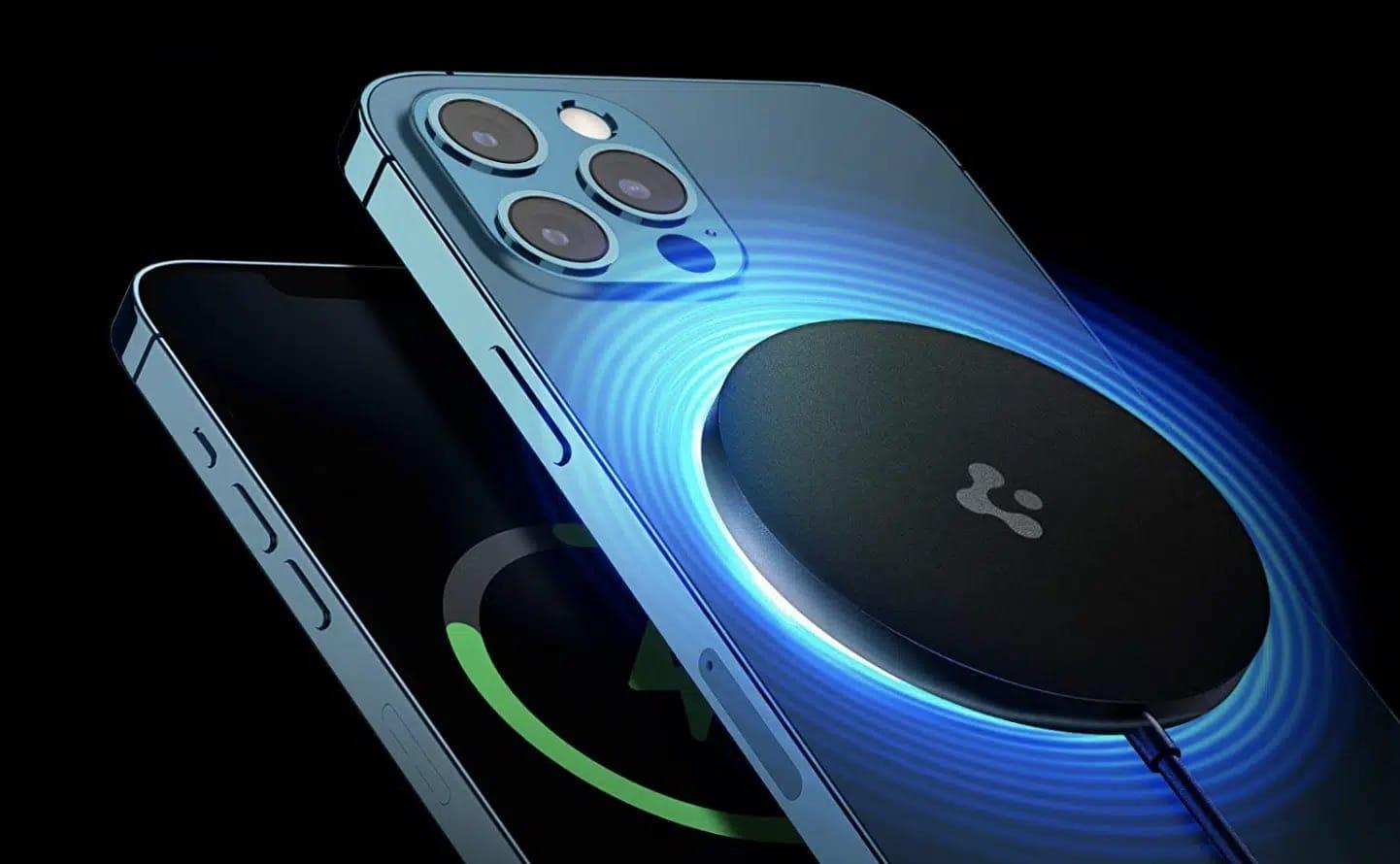 SpigenのiPhone 13/12シリーズ用ワイヤレス充電器が20%オフ