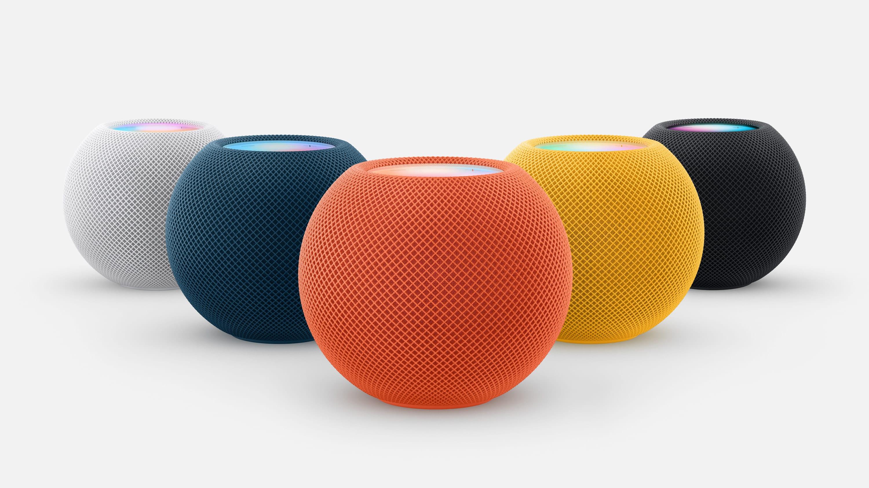Apple、「HomePod mini」の新色を発表