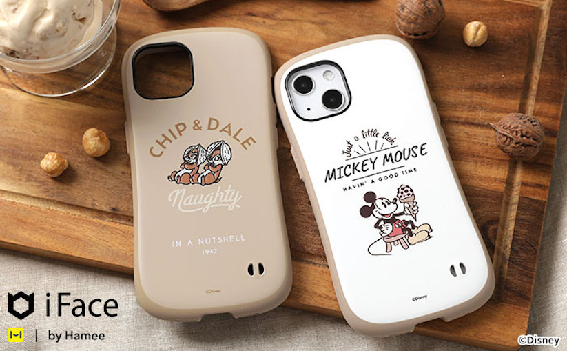 iFace、ディズニーキャラクターのiPhone 13シリーズ用「First Class Cafe」ケース発売