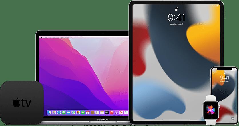 「macOS Monterey」「iOS 15.1」「iPadOS 15.1」「watchOS 8.1」「tvOS 15.1」のリリース候補公開