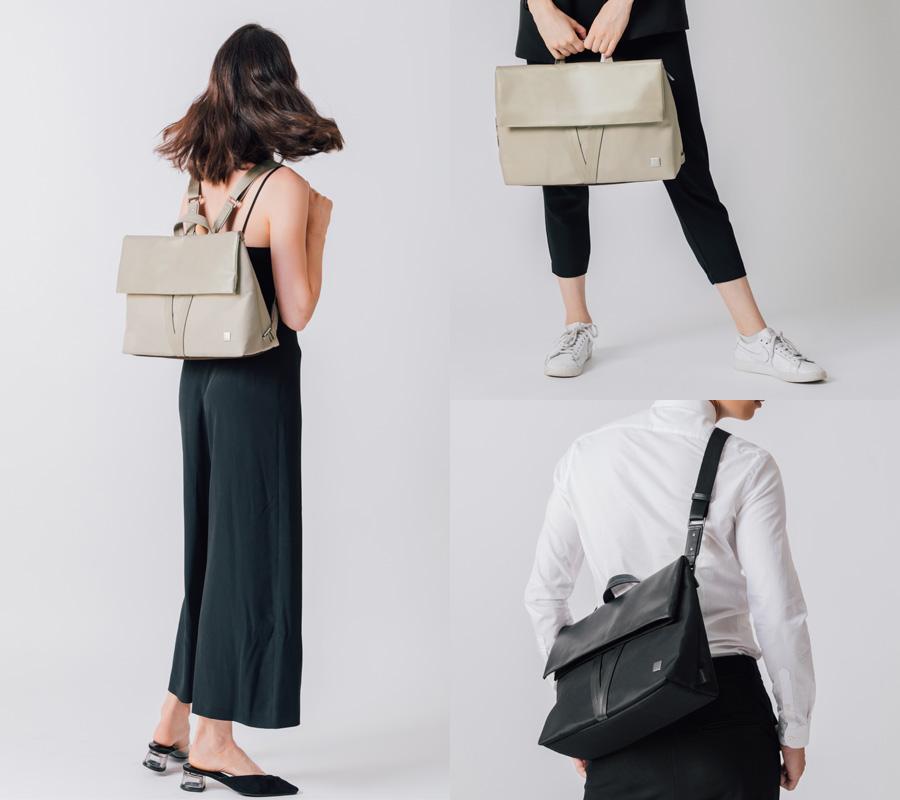 moshi、ノートパソコン対応3Wayバッグ「Vespo」発売