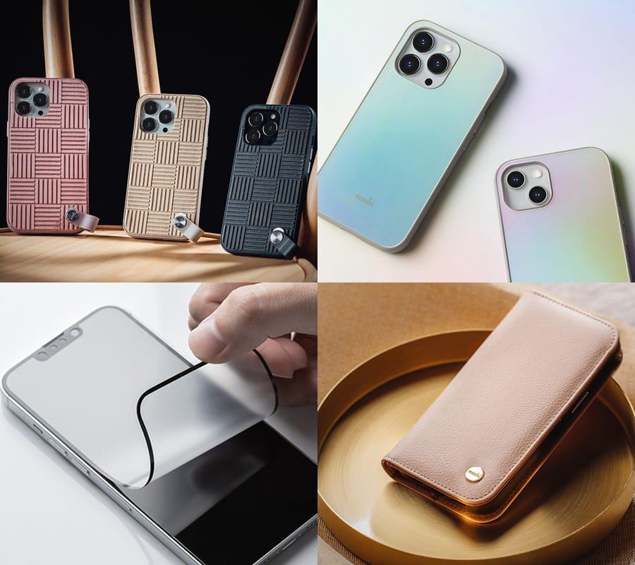 moshi、iPhone 13シリーズ対応のケース&スプリーンプロテクター発売